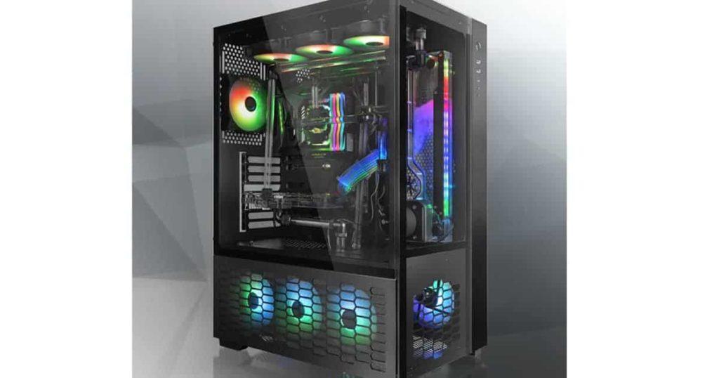 Raijintek unveils its enthusiasts level PAEAN PREMIUM ATX full-tower case