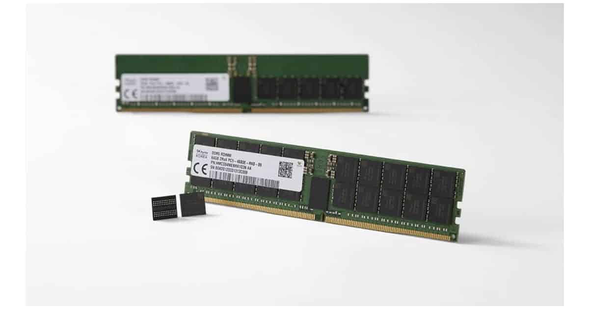 SK DDR5 RAM