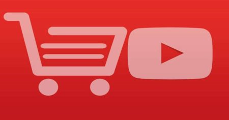 Shopping from youtube