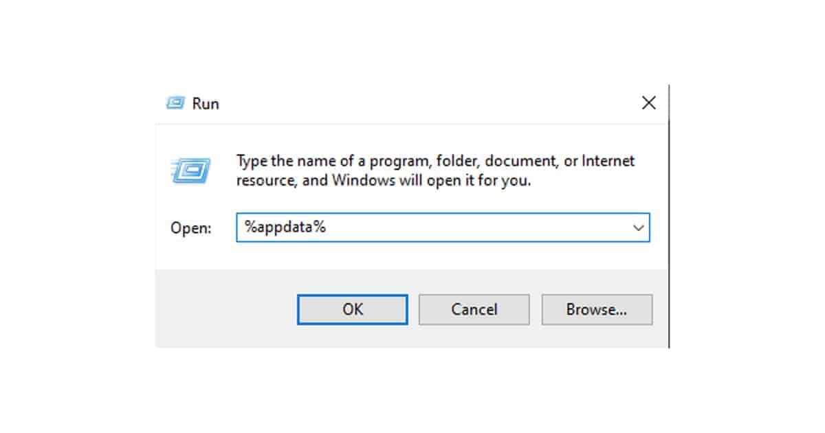 appdata run