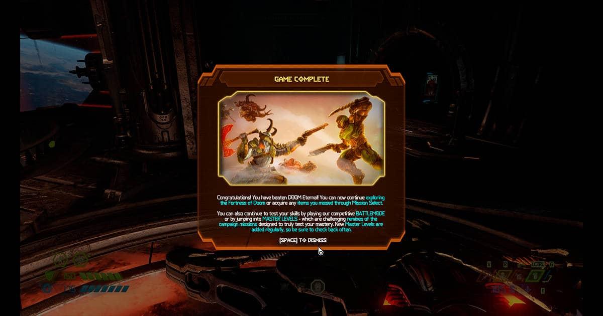 doom eternal end game