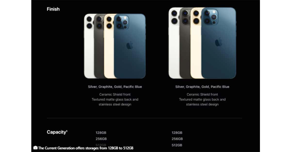 iphone storages