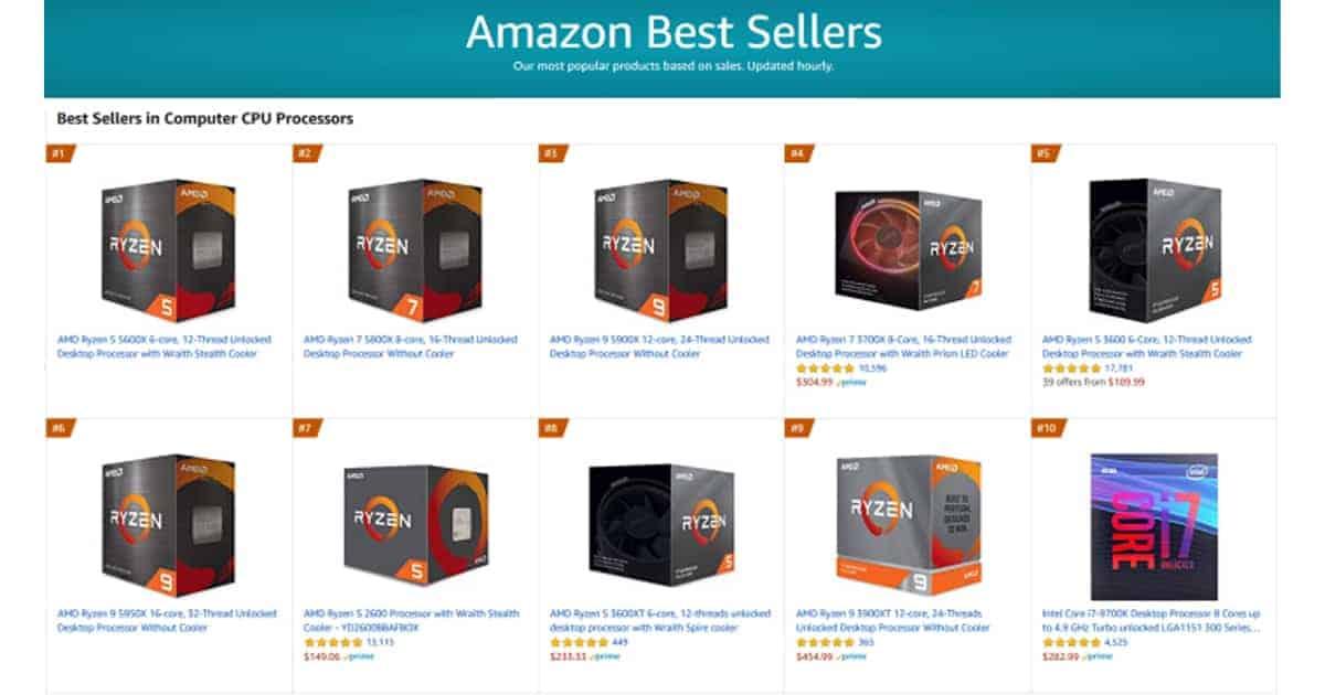 Amazon Best Seller 2020