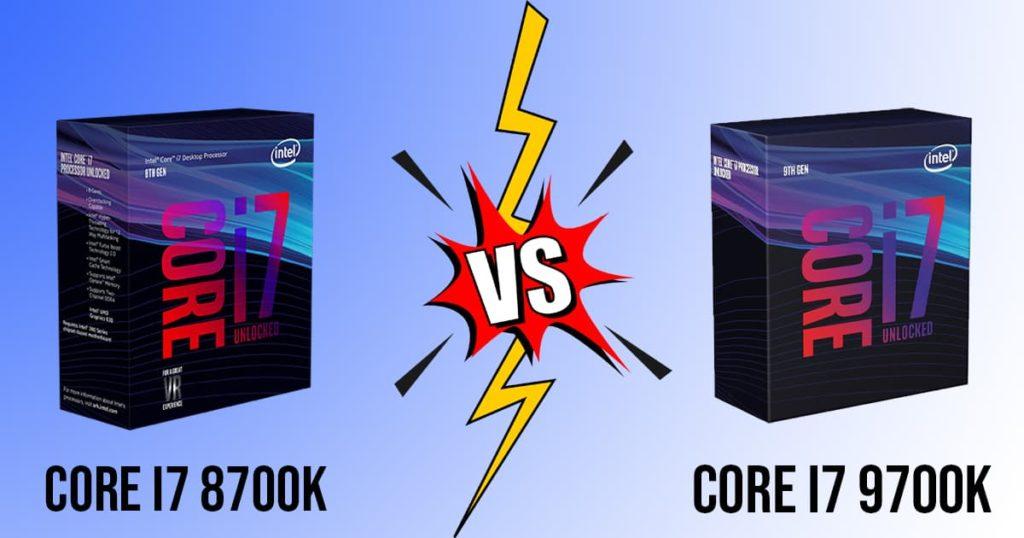 Core i7 8700K vs Core i7 9700K