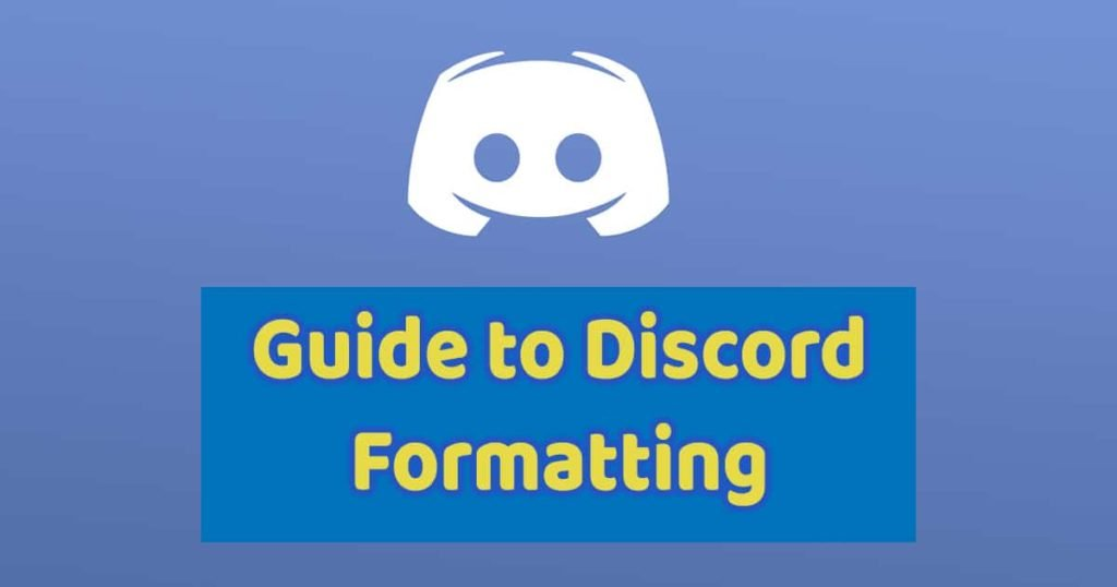 Discord Formatting