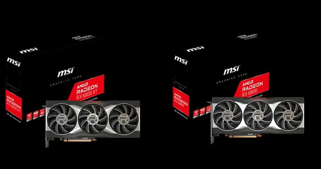 MSI and PowerColor unveil their latest custom Radeon RX 6800 series GPUs