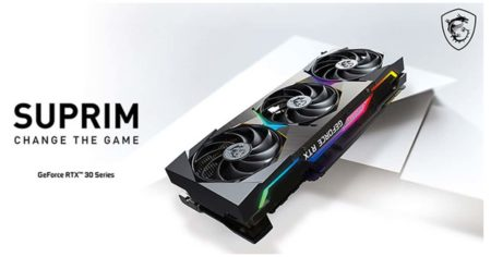 MSI launch its premium Suprim Lineup for the RTX 30 series graphics cards