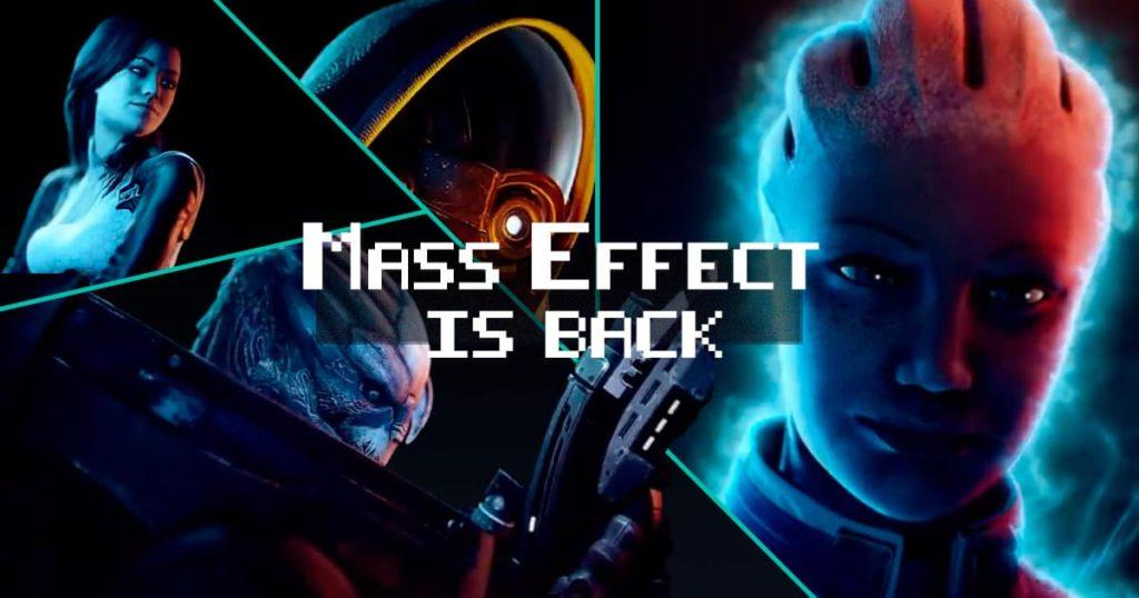 Mass Effect Legendary Edition the December 2021 4K remaster 1
