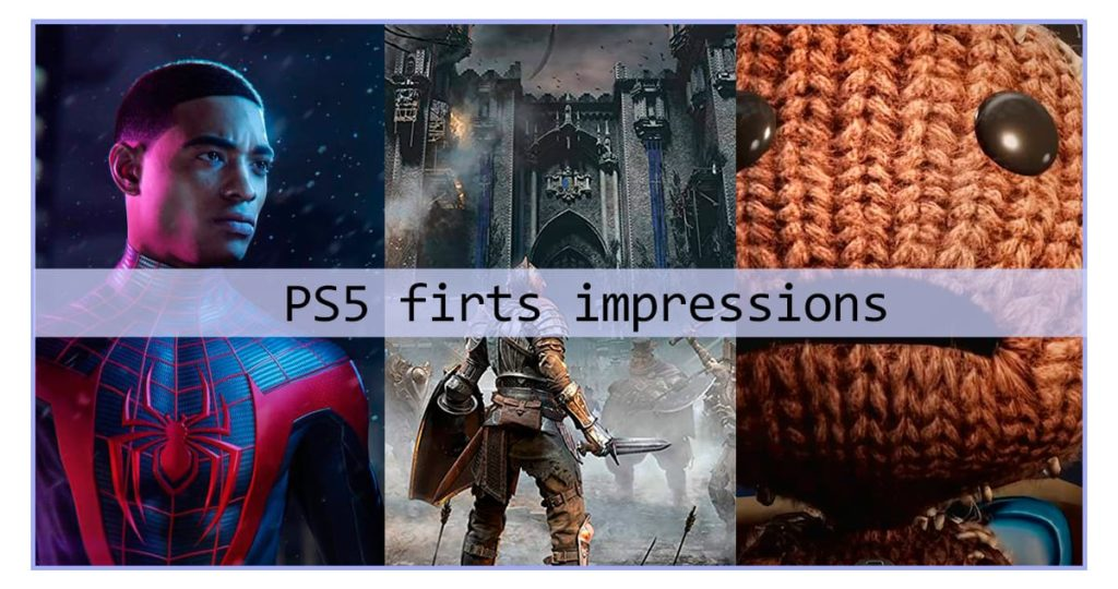 PlayStation 5 launch day First impressions on Sony new console