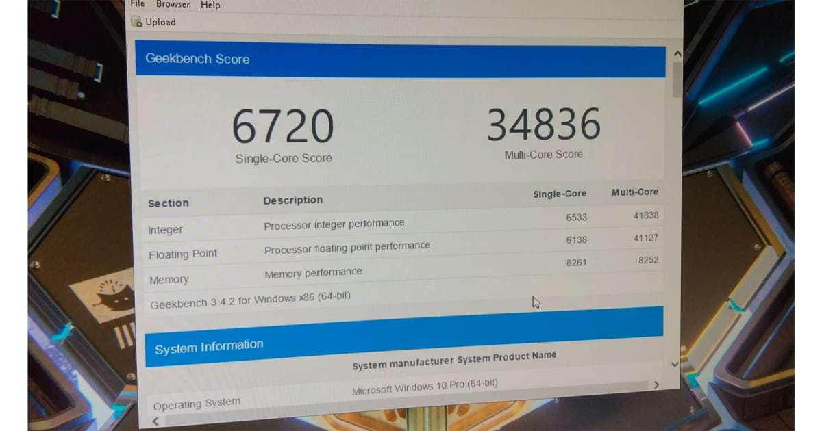 Ryzen 5600X GeekBench