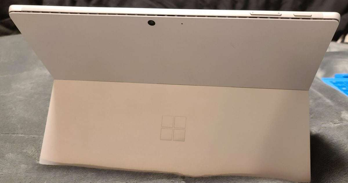Surface Pro back