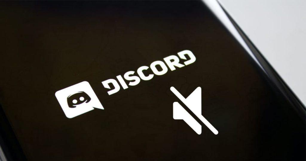 mute notification on discord