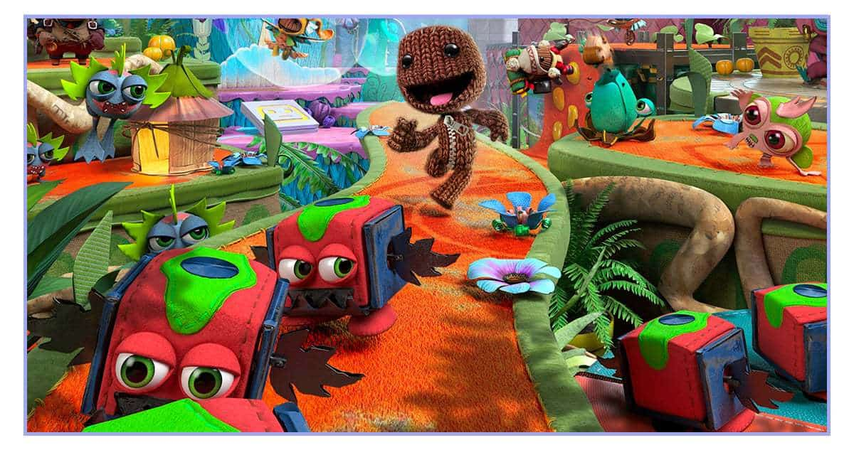 PS5 launch titles sackboy