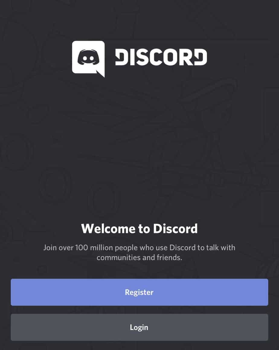 Open the Discord app on your phone.