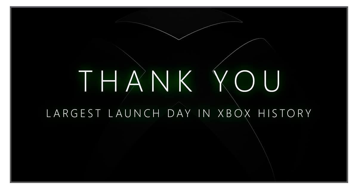 Xbox Series launch