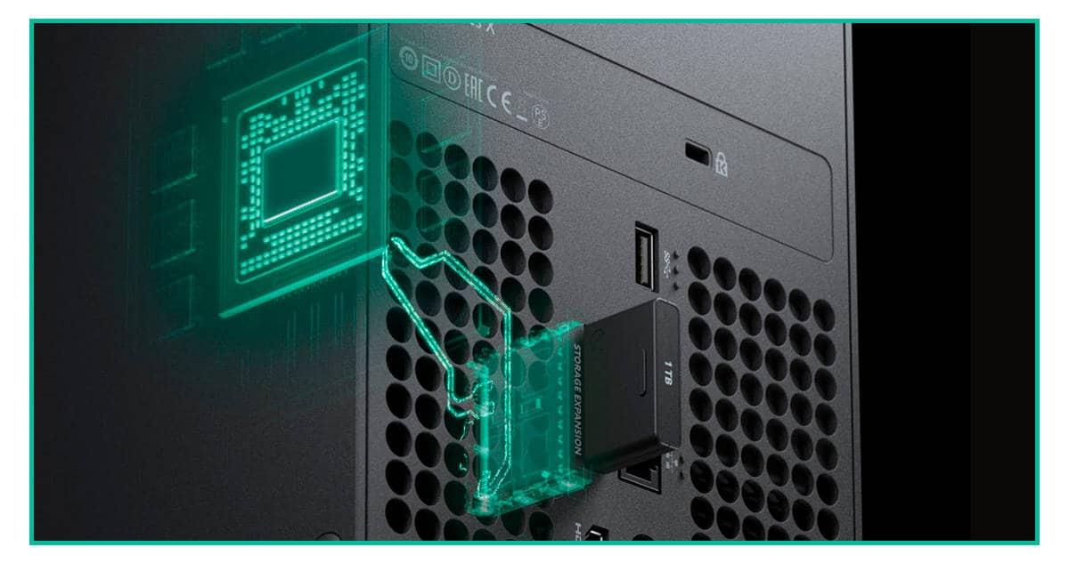 xbox series s usable storage