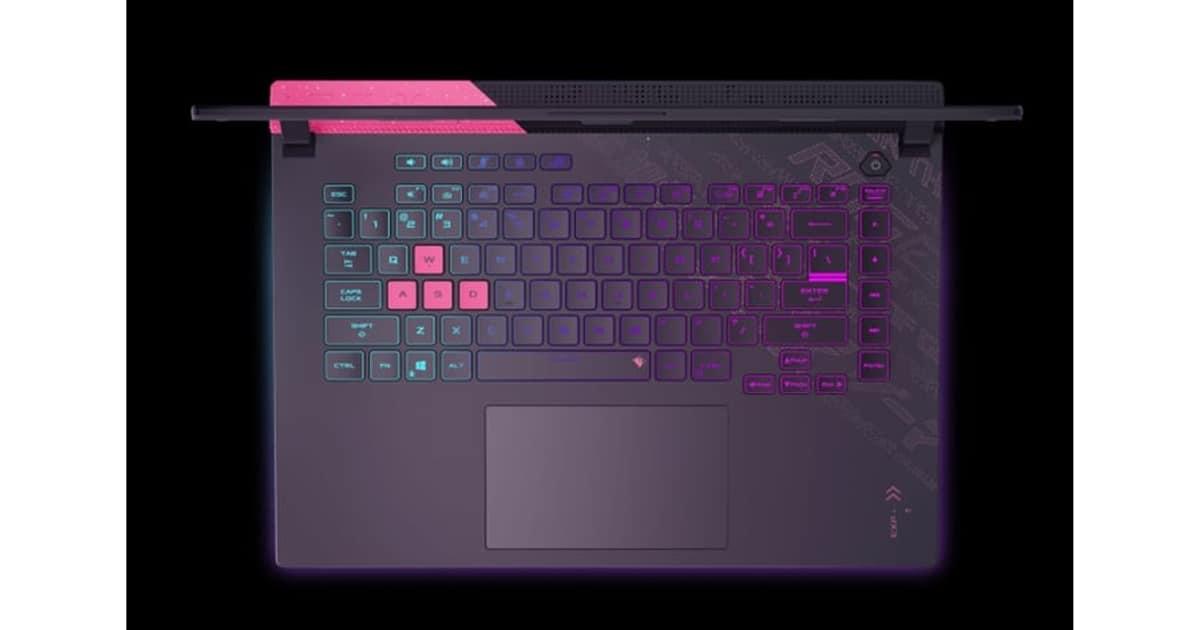 Asus ROG Strix unnamed laptop