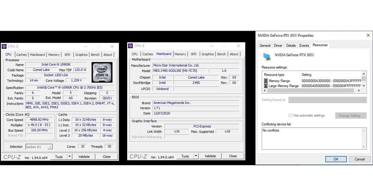 Intel Nvidia Resizable BAR