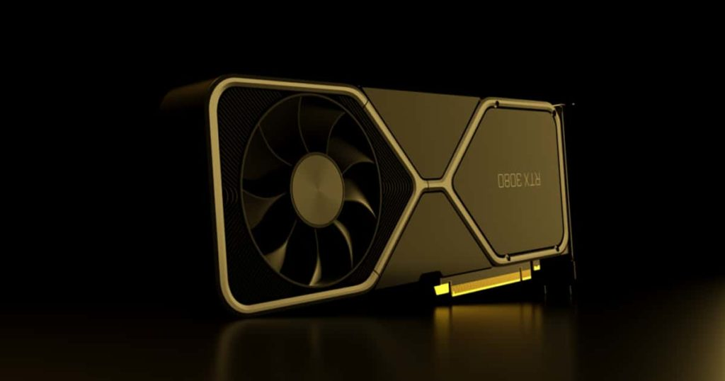 Nvidia RTX 3080 Ti found in the HP Driver sighting 2021 launch date