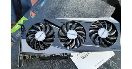 RTX 3060 Ti finally here with a customer's early delivery and leaked Geekbench results