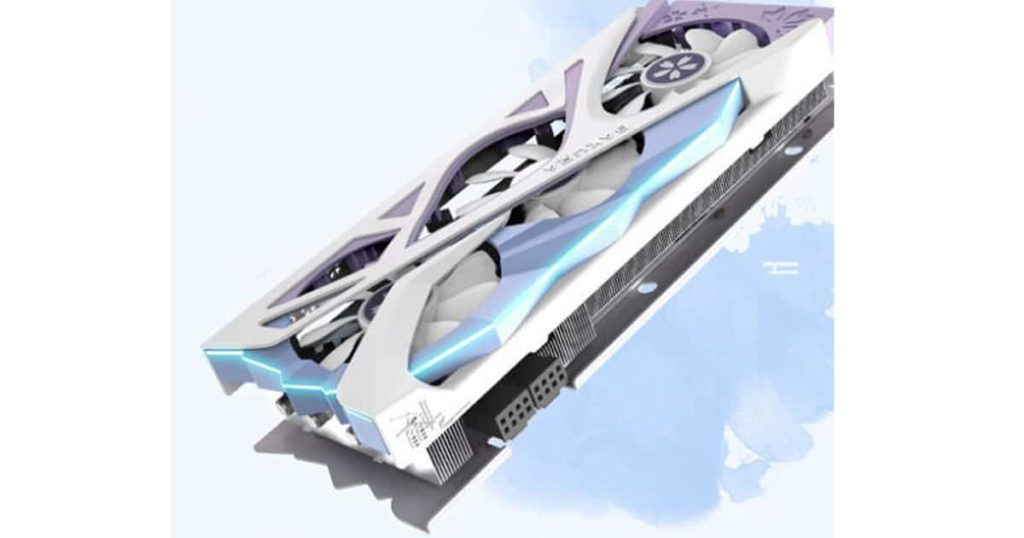 Yeston unveils its latest anime-inspired RTX 3070 Sakura Hitomi Edition