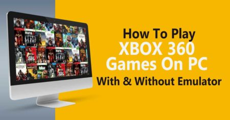 how to play xbox 360 games on pc