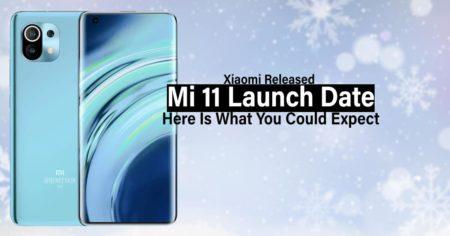 xiaomi released mi 11 launch date