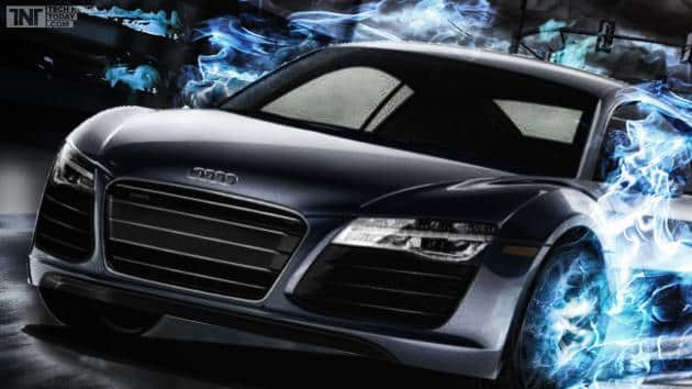 630 audi r8 v10 plus unveiled with enormous power