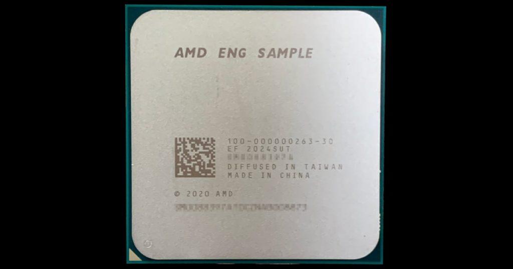 AMD Ryzen 7 Vermeer 8 core APU spotted with impressive single core performance