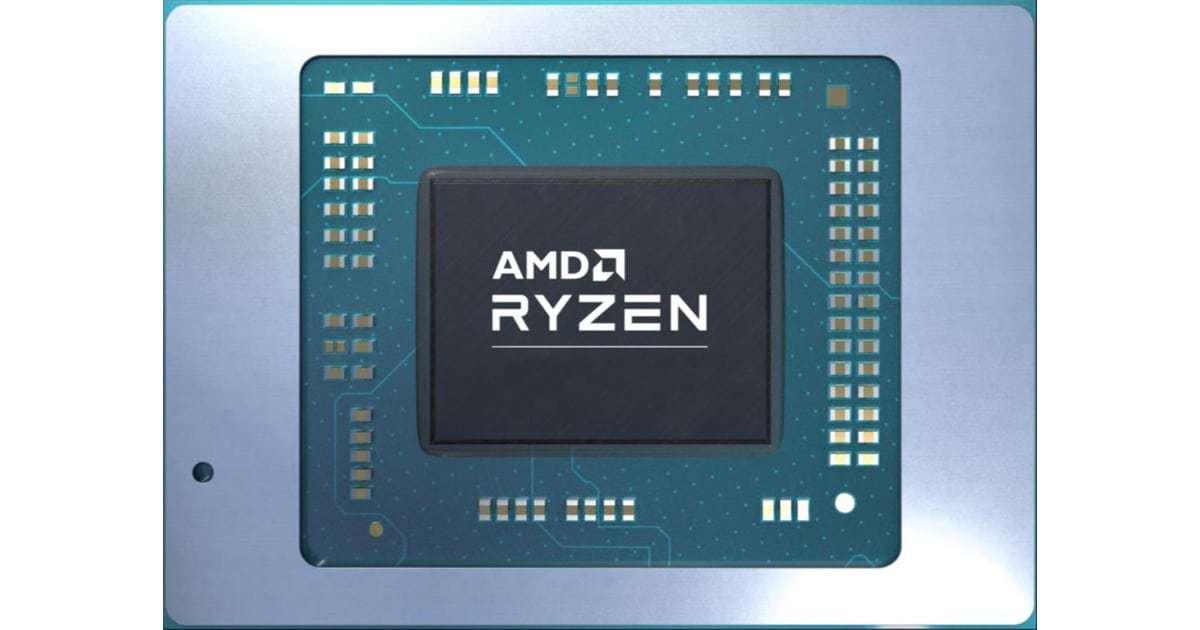 AMD Ryzen mobility APU
