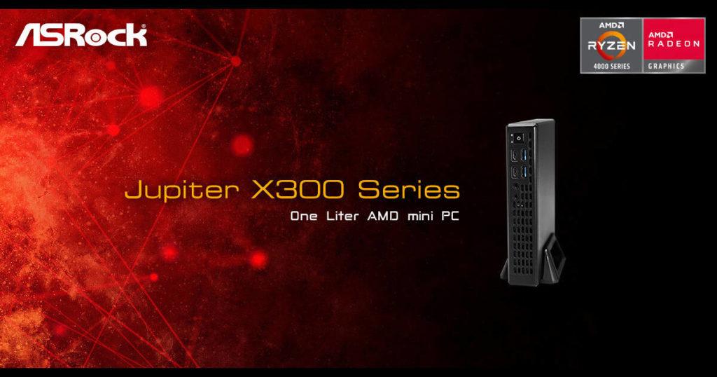 AsRocks reveals the Jupiter X300 Mini - 1-liter Barebones kit for the Ryzen APUs