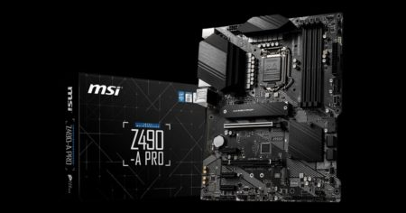 Intel PCIe Gen 4.0 interface tested with Intel QS sample on a Z490 motherboard