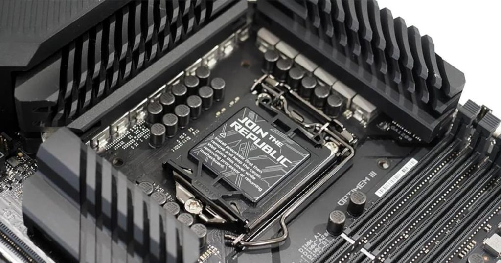 Intel limits processor support for its 500 series motherboard