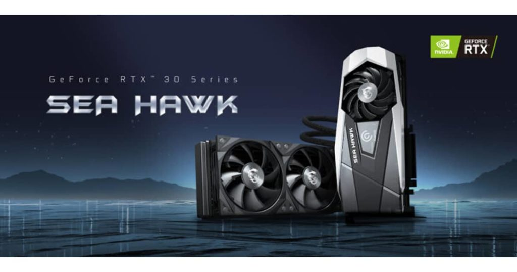 MSI unveils its latest Sea Hawk Series for its RTX 3080 and RTX 3090 graphics card