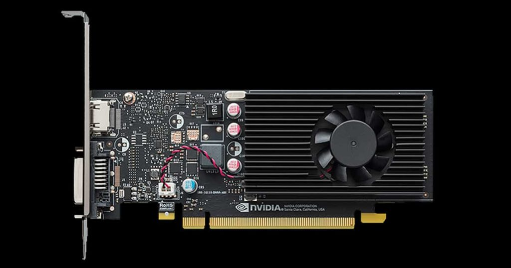 Nvidia announced the GeForce GT 1010 based on the Pascal architecture for 2021
