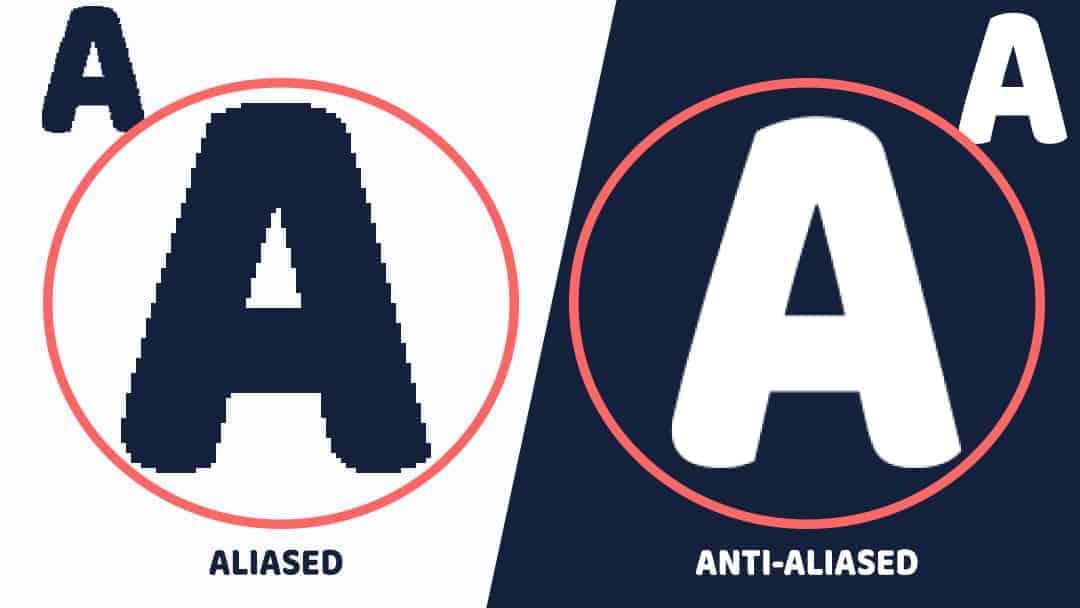anti aliasing Vs Aliasing