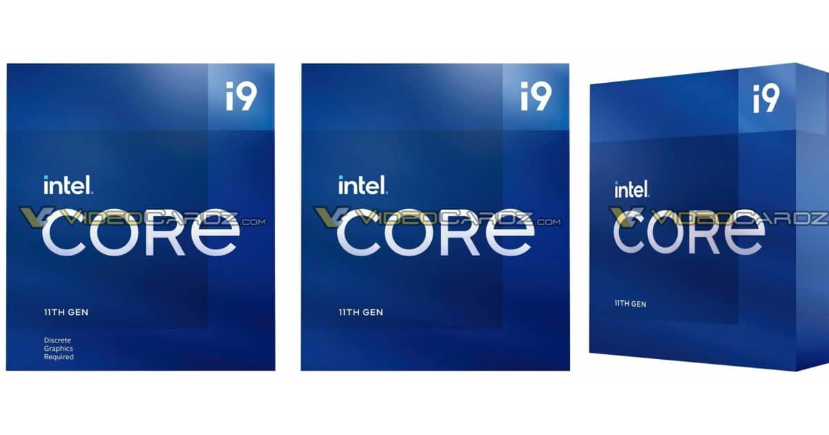 Core i9 packaging