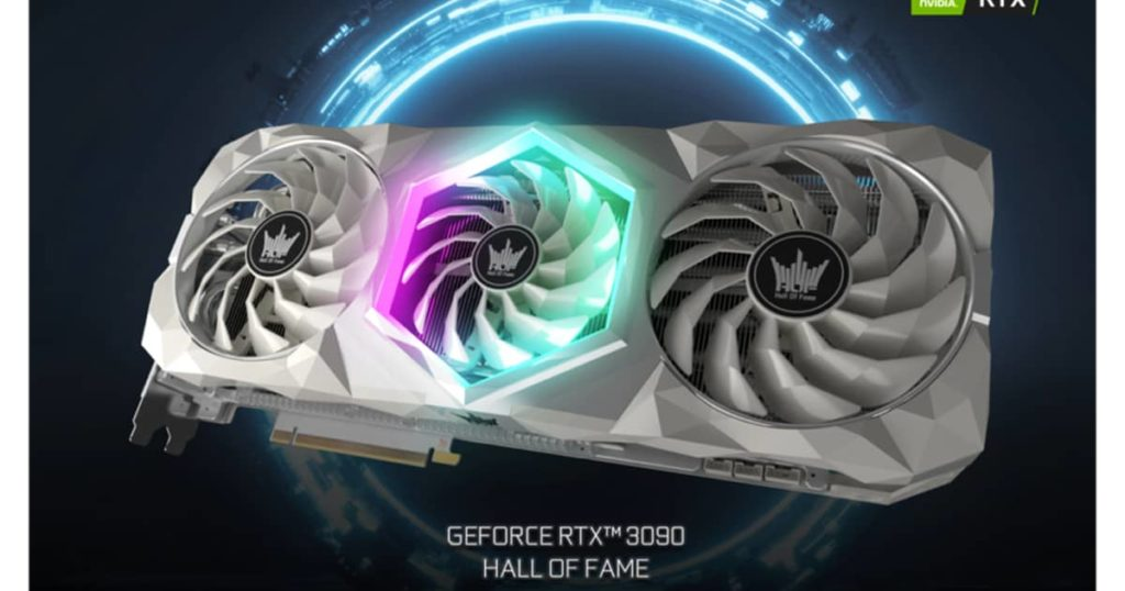 GALAX GeForce RTX 3090 Hall Of Fame The best enthusiast grade graphics