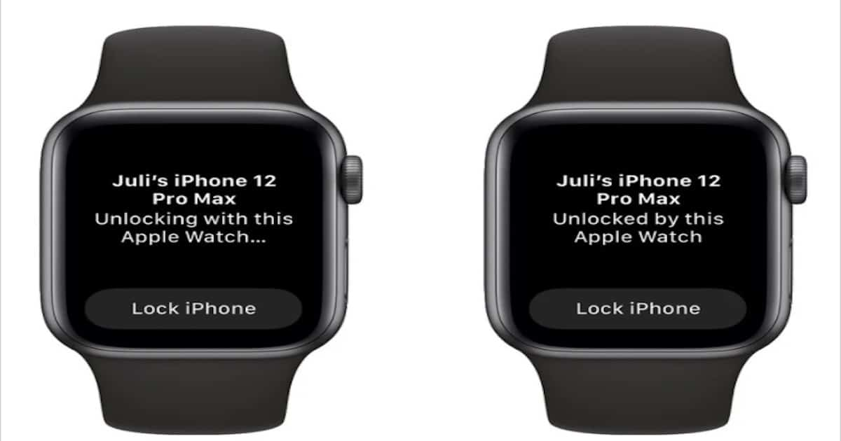 WatchOS 7.4 public beta lets users unlock their iPhones