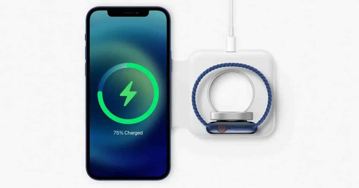 iPhone 12 wireless charging