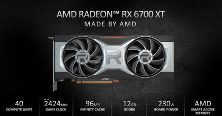 AMD unveils the NAVI 22 Radeon RX 6700XT ready to launch this month