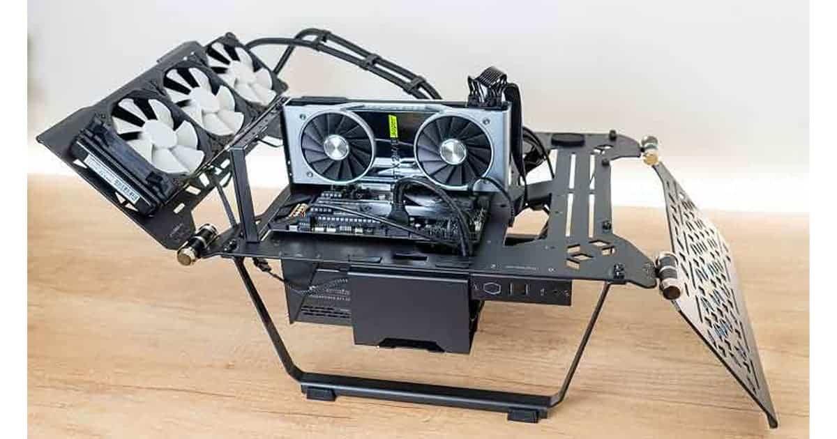 Cooler Master Master Frame 700 - testbench build