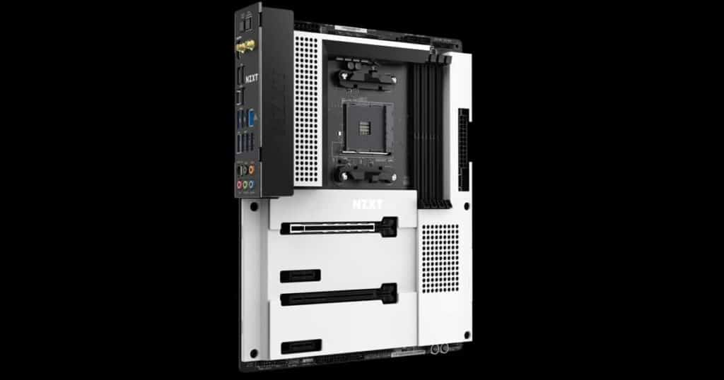 NZXT unveils its first AMD platform motherboard - The NZXT N7 B550