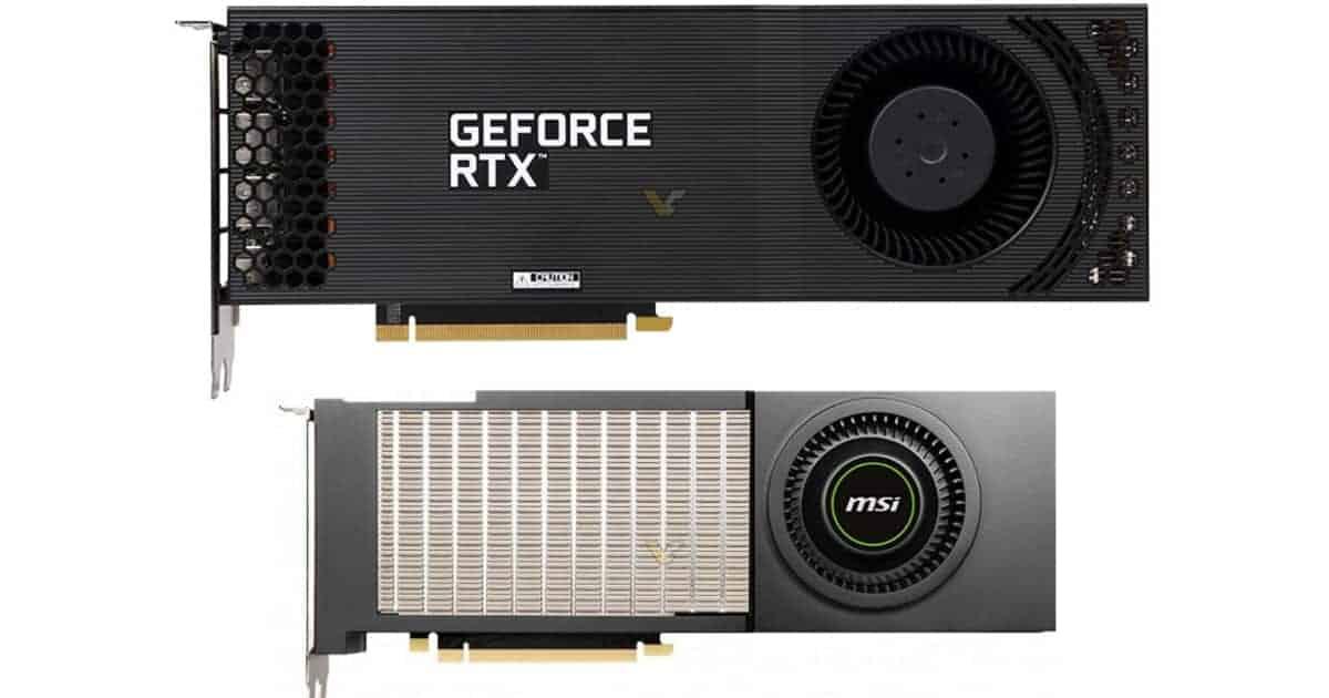 RTX 3090 Blower style GPU