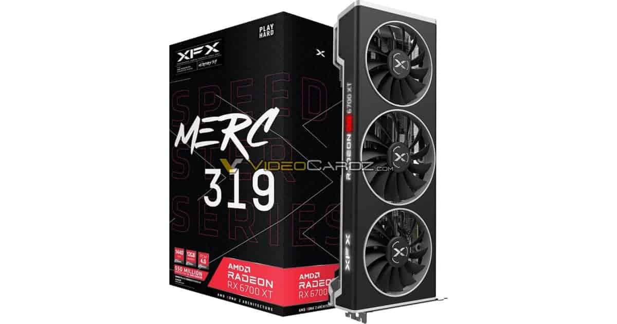 XFX MERC 319 RX 6700XT