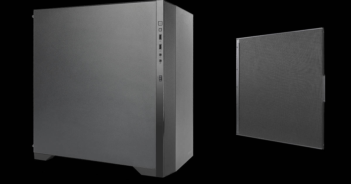 Antec P82 Silent side panel layout