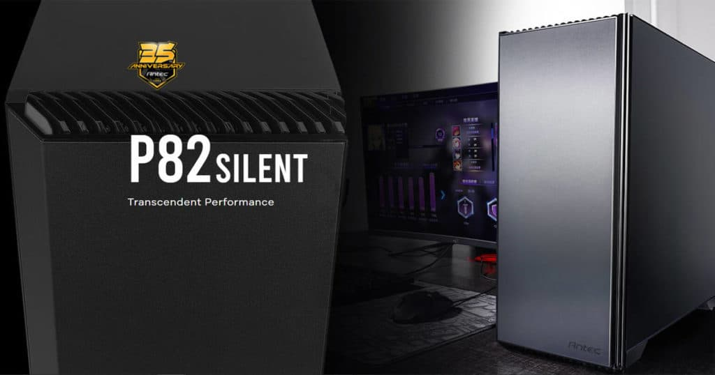 Antec releases its P82 Silent case based on the P82 flow design