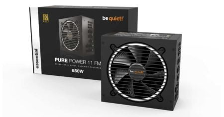Be Quiet release Pure Power 11 FM in three variants