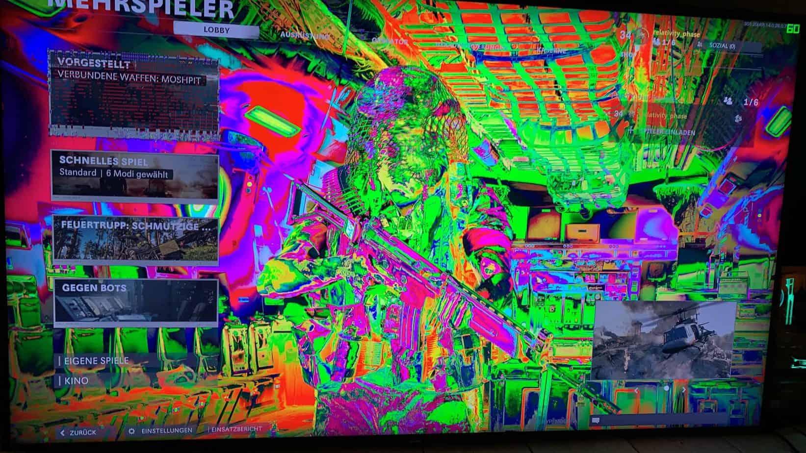GPU glitches