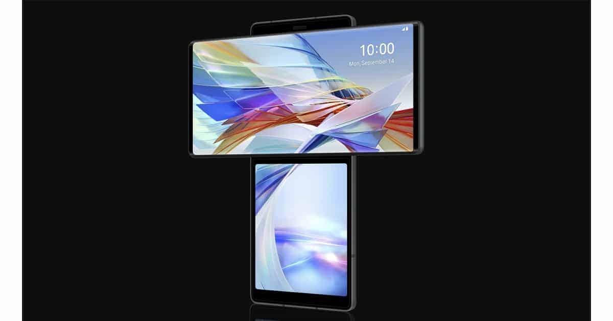 LG Wing smartphones